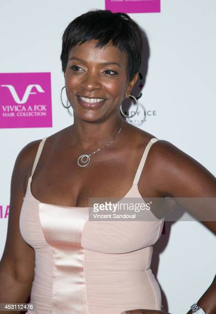 Actress Vanessa Bell Calloway attends Vivica A Fox's 50th birthday celebration at Philippe Chow on August 2 2014 in Beverly Hills California