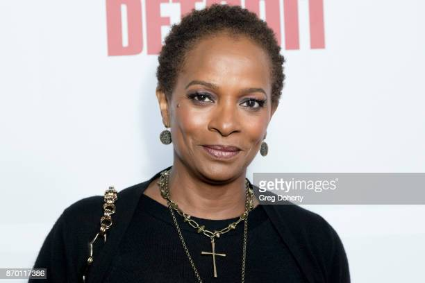 Actress Vanessa Calloway attends Richard Lawson and Tina Knowles Lawson Launch at the WACO Theater Grand Opening at WACO Theater Center on November 3...