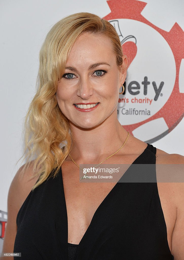 Actress Vanessa Cater arrives at the 4th Annual Variety - The Children's Charity of Southern CA Texas Hold 'Em Poker Tournament at Paramount Studios on July 16, 2014 in Hollywood, California.