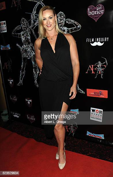 Actress Vanessa Cater at the 2nd Annual Artemis Film Festival Red Carpet Opening Night/Awards Presentation held at Ahrya Fine Arts Movie Theater on...