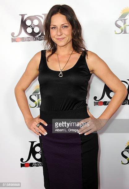 Actress Vanessa Cloke arrives for the Premiere Of JR Productions' Halloweed held at TCL Chinese 6 Theatres on March 15 2016 in Hollywood California