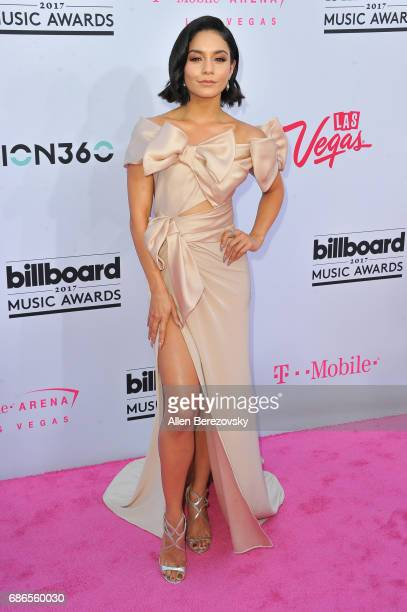 Actress Vanessa Hudgens arrives at 2017 Billboard Music Awards at TMobile Arena on May 21 2017 in Las Vegas Nevada
