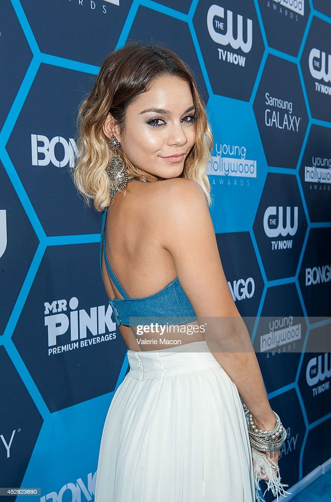 Actress Vanessa Hudgens arrives at the 16th Annual Young Hollywood Awards at The Wiltern on July 27, 2014 in Los Angeles, California.