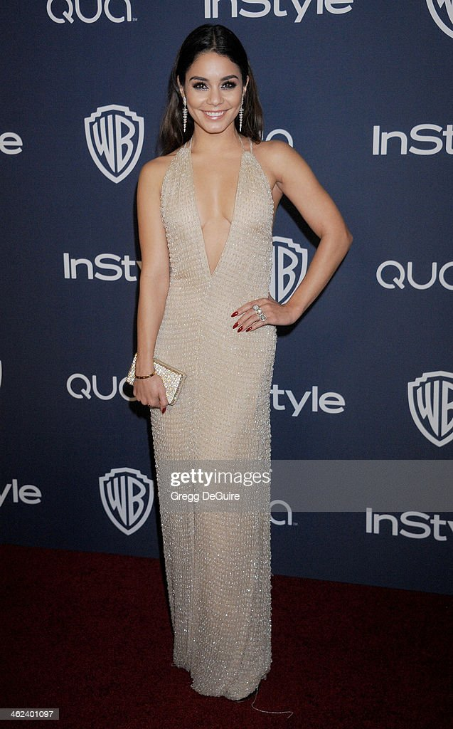 2014 InStyle And Warner Bros. 71st Annual Golden Globe Awards Post-Party - Arrivals : News Photo