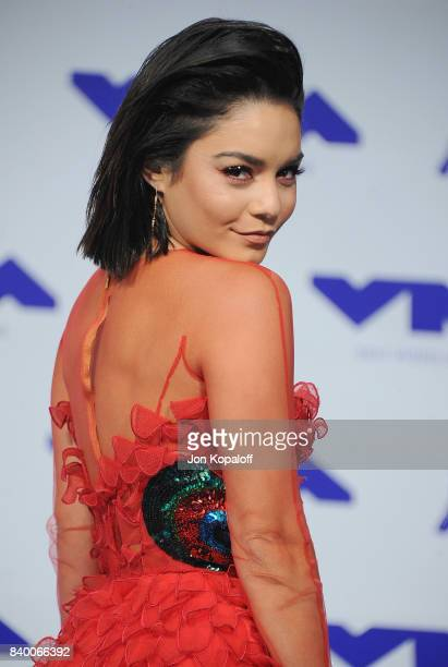Actress Vanessa Hudgens arrives at the 2017 MTV Video Music Awards at The Forum on August 27 2017 in Inglewood California