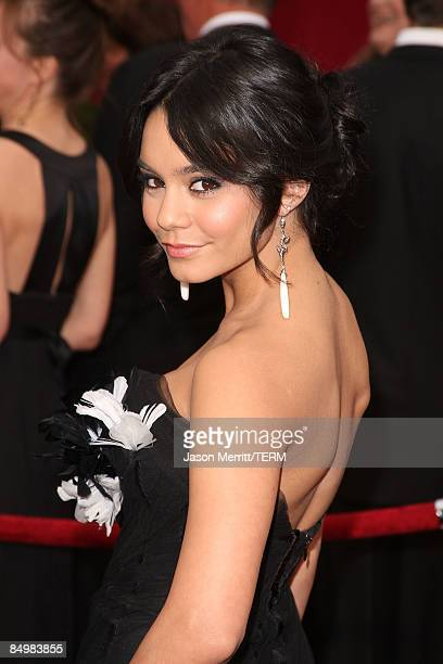 Actress Vanessa Hudgens arrives at the 81st Annual Academy Awards held at Kodak Theatre on February 22 2009 in Los Angeles California