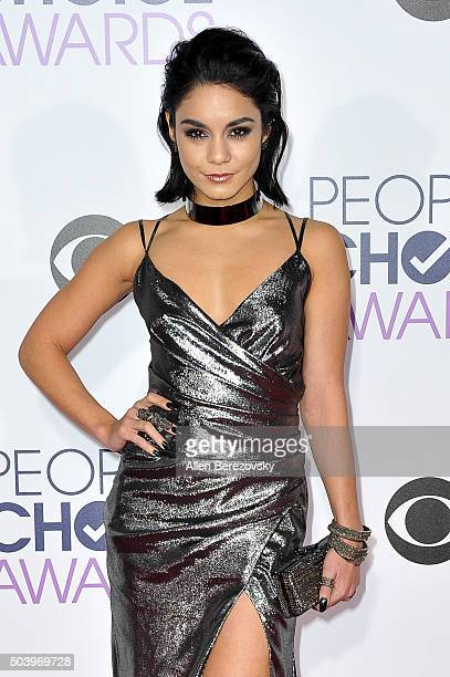Actress Vanessa Hudgens arrives at the People's Choice Awards 2016 at Microsoft Theater on January 6 2016 in Los Angeles California