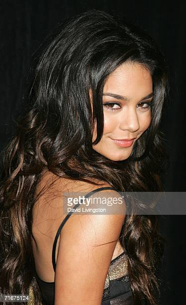 Actress Vanessa Hudgens arrives to the 21st Annual Imagen Awards show held on August 18 2006 at the Berverly Hilton in Beverly Hills California
