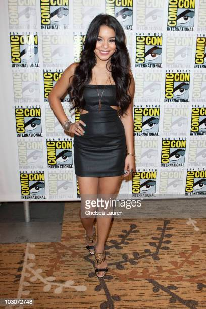Actress Vanessa Hudgens attends a red carpet for Sucker Punch on day 3 of ComicCon International at San Diego Convention Center on July 24 2010 in...