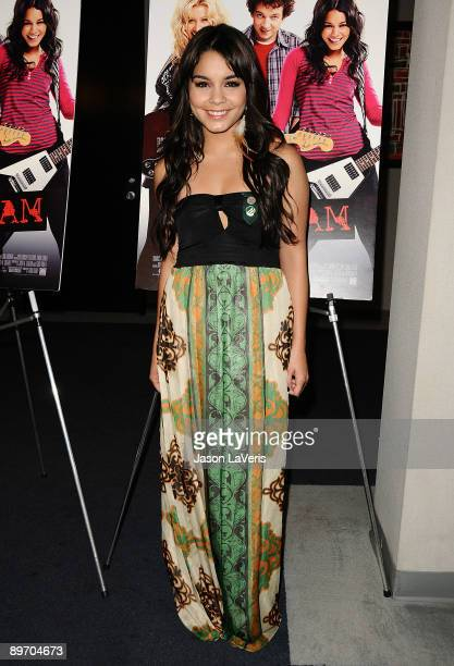 Actress Vanessa Hudgens attends a special screening of 'Bandslam' for Girls Scouts of America at the Harmony Gold Preview House and Theater on August...