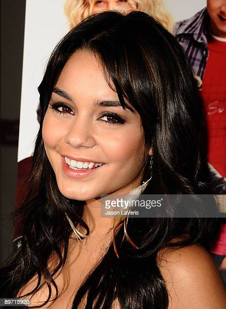 Actress Vanessa Hudgens attends a special screening of Bandslam for Girls Scouts of America at the Harmony Gold Preview House and Theater on August 7...