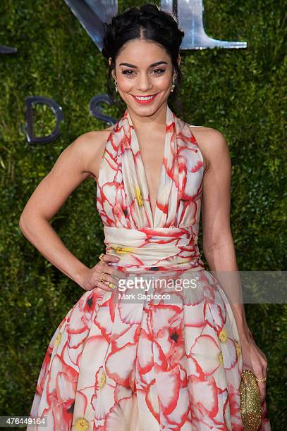 Actress Vanessa Hudgens attends American Theatre Wing's 69th Annual Tony Awards at Radio City Music Hall on June 7 2015 in New York City