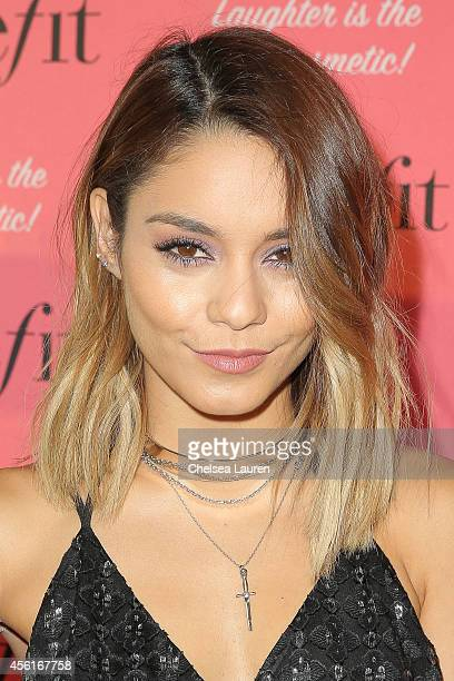 Actress Vanessa Hudgens attends Benefit Cosmetics' event hosted by Vanessa Hudgens at Space 15 Twenty on September 26 2014 in Los Angeles California