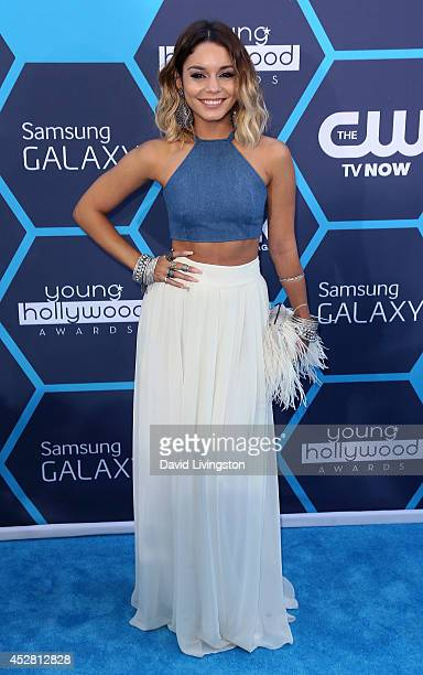 Actress Vanessa Hudgens attends the 16th Annual Young Hollywood Awards at The Wiltern on July 27 2014 in Los Angeles California