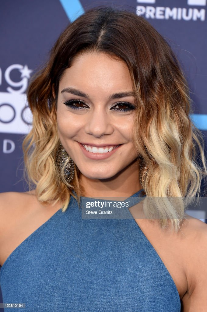 Actress Vanessa Hudgens attends the 2014 Young Hollywood Awards brought to you by Mr. Pink held at The Wiltern on July 27, 2014 in Los Angeles, California.