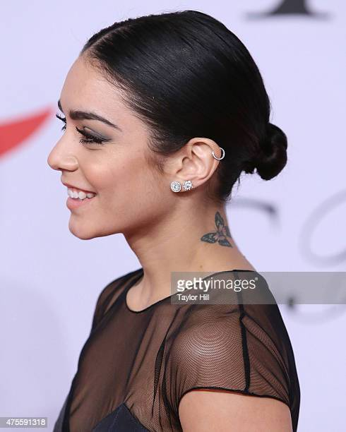 Actress Vanessa Hudgens attends the 2015 CFDA Awards at Alice Tully Hall at Lincoln Center on June 1 2015 in New York City