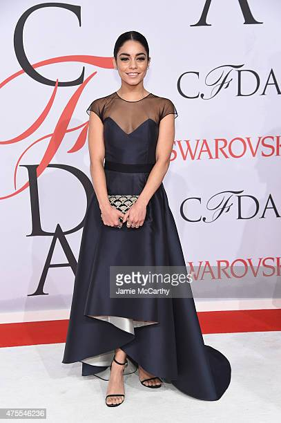 Actress Vanessa Hudgens attends the 2015 CFDA Fashion Awards at Alice Tully Hall at Lincoln Center on June 1 2015 in New York City