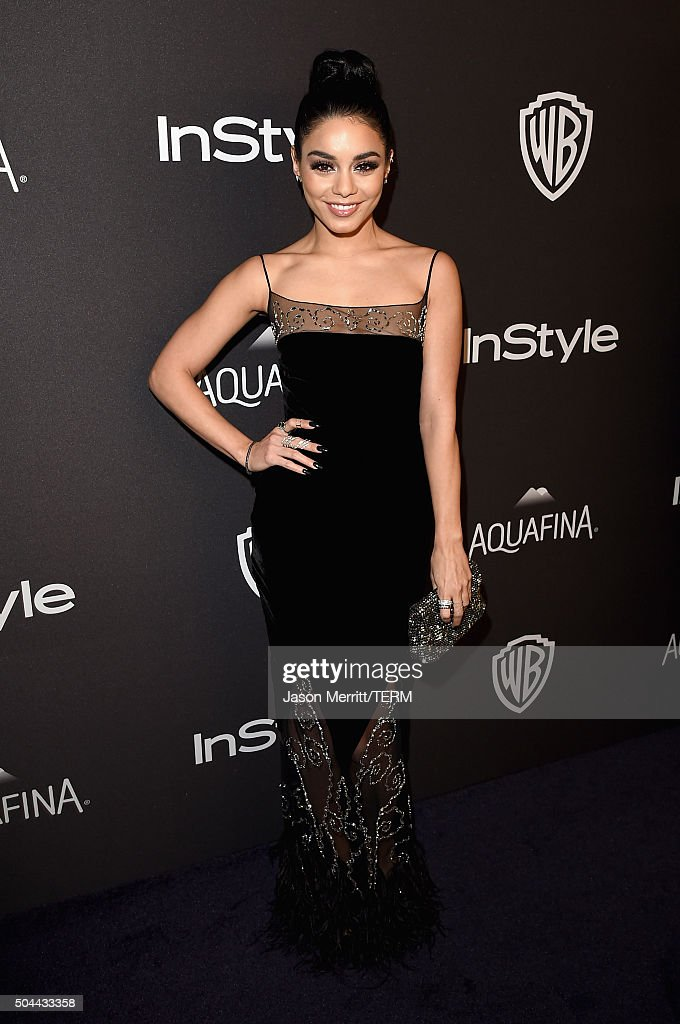 The 2016 InStyle And Warner Bros. 73rd Annual Golden Globe Awards Post-Party - Red Carpet : News Photo