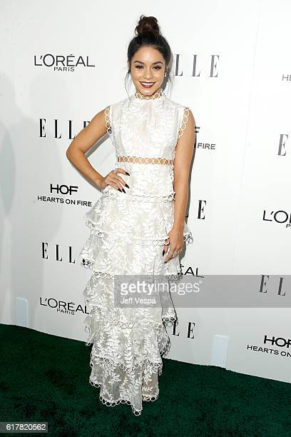 Actress Vanessa Hudgens attends the 23rd Annual ELLE Women In Hollywood Awards at Four Seasons Hotel Los Angeles at Beverly Hills on October 24 2016...