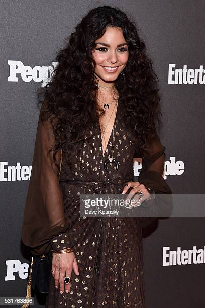 Actress Vanessa Hudgens attends the Entertainment Weekly People Upfronts party 2016 at Cedar Lake on May 16 2016 in New York City
