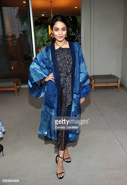 Actress Vanessa Hudgens attends the launch of Studio 189 for yooxcom Collection at a private residence on May 11 2016 in Beverly Hills California