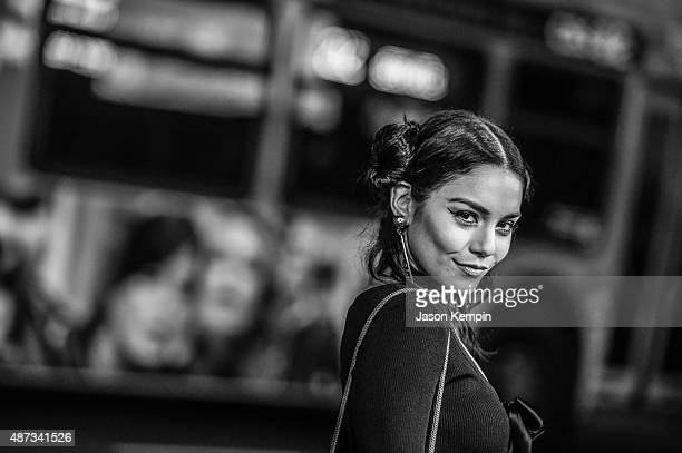 Actress Vanessa Hudgens attends the premiere of 'Jeremy Scott The People's Designer' at ArcLight Cinemas on September 8 2015 in Hollywood California