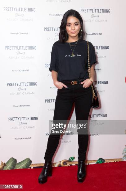 Actress Vanessa Hudgens attends the PrettyLittleThing x Ashley Graham Event at Delilah on September 24 2018 in West Hollywood California