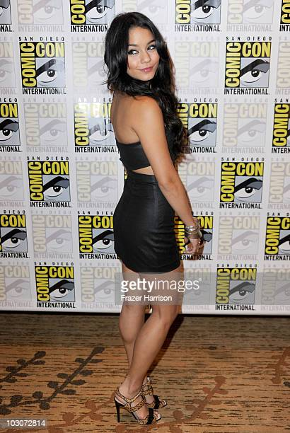 Actress Vanessa Hudgens attends the 'Sucker Punch' red carpet during ComicCon 2010 on July 24 2010 in San Diego California