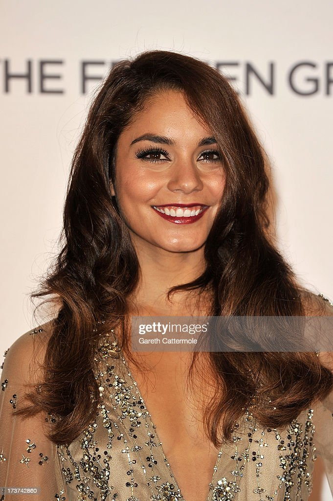 Actress Vanessa Hudgens attends the UK Premiere of 'The Frozen Ground' at Vue West End on July 17, 2013 in London, England.