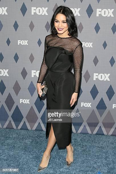 Actress Vanessa Hudgens attends the Winter TCA Tour FOX Winter TCA 2016 AllStar Party at the Langham Huntington Hotel on January 15 2016 in Pasadena...