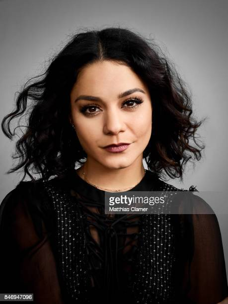 Actress Vanessa Hudgens from 'Powerless' is photographed for Entertainment Weekly Magazine on July 22 2016 at Comic Con in the Hard Rock Hotel in San...