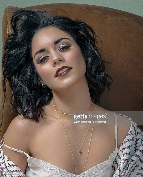Actress Vanessa Hudgens is photographed for Social Life on April 17 in New York City PUBLISHED IMAGE