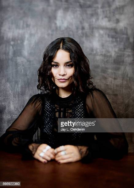 Actress Vanessa Hudgens of 'Powerless' is photographed for Los Angeles Times at San Diego Comic Con on July 22 2016 in San Diego California