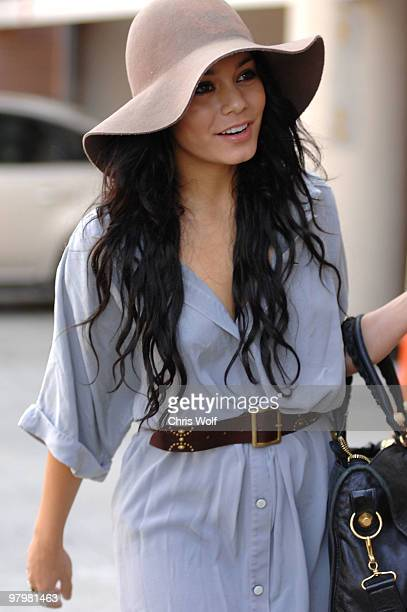 Actress Vanessa Hudgens sighting on March 23 2010 in Beverly Hills California