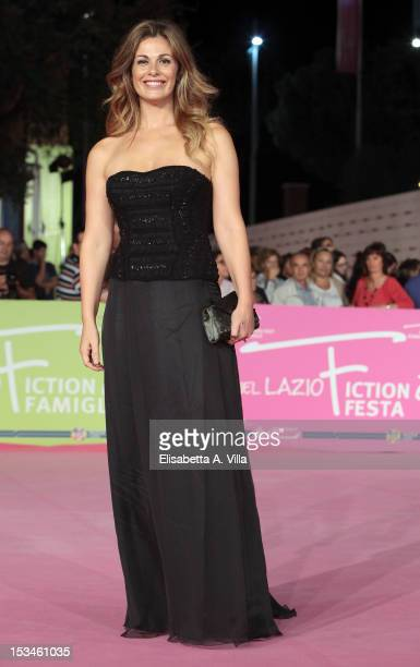 Actress Vanessa Incontrada attends the 2012 RomaFictionFest Closing Cerimony at Auditorium Parco della Musica on October 5 2012 in Rome Italy