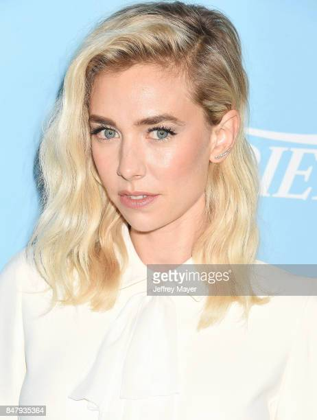 Actress Vanessa Kirby arrives at the Variety And Women In Film's 2017 PreEmmy Celebration at Gracias Madre on September 15 2017 in West Hollywood...