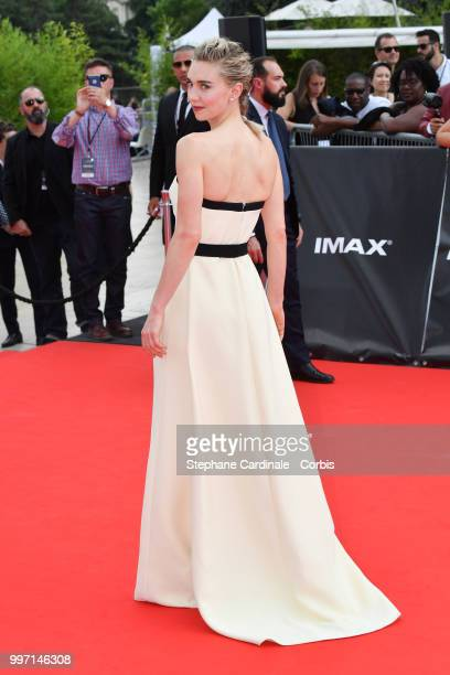 Actress Vanessa Kirby attends the Mission Impossible Fallout' Global Premiere in Paris on July 12 2018 in Paris France