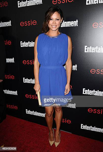 Actress Vanessa Lachey attend the Entertainment Weekly SAG Awards preparty at Chateau Marmont on January 17 2014 in Los Angeles California