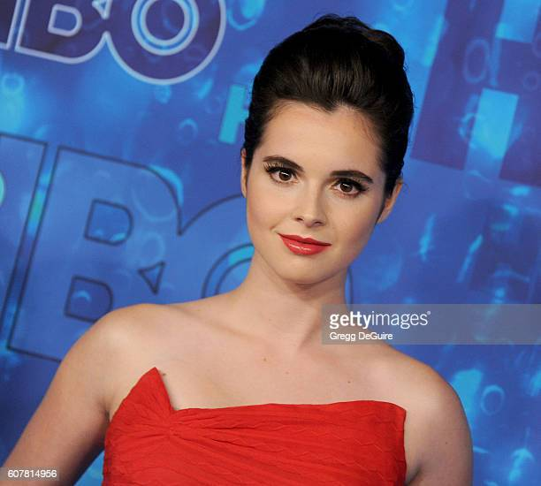 Actress Vanessa Marano arrives at HBO's Post Emmy Awards Reception at The Plaza at the Pacific Design Center on September 18 2016 in Los Angeles...