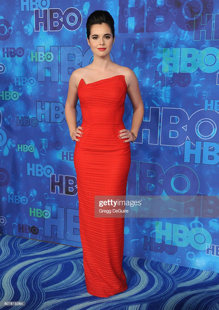 Actress Vanessa Marano arrives at HBO's Post Emmy Awards Reception at The Plaza at the Pacific Design Center on September 18, 2016 in Los Angeles, California.