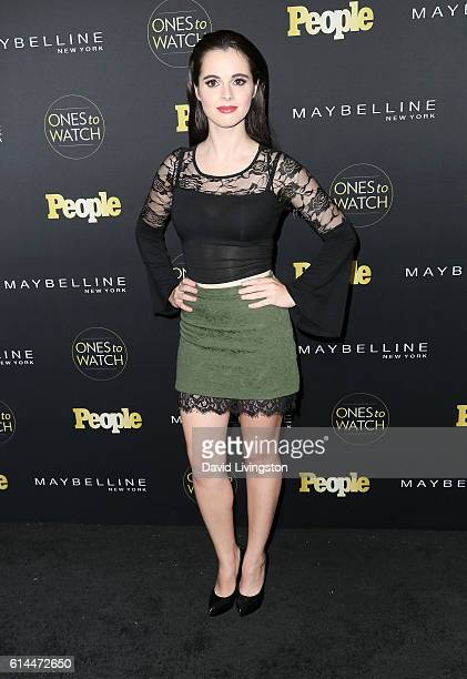 Actress Vanessa Marano arrives at People's 'Ones to Watch' at EP LP on October 13 2016 in West Hollywood California