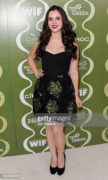 Actress Vanessa Marano arrives at the Variety And Women In Film Pre-Emmy Party at Scarpetta on September 20, 2013 in Beverly Hills, California.