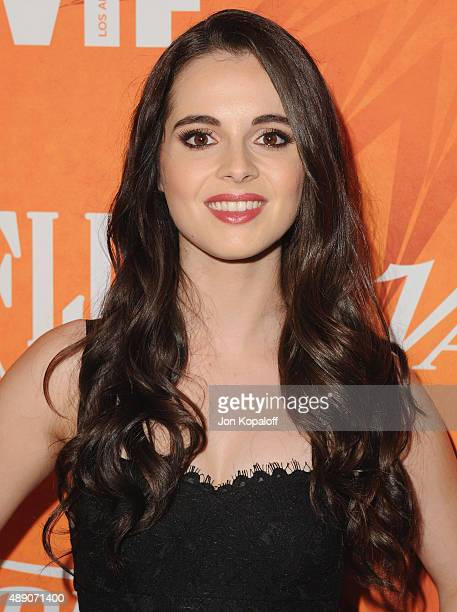 Actress Vanessa Marano arrives at the Variety And Women In Film Annual Pre-Emmy Celebration at Gracias Madre on September 18, 2015 in West Hollywood,...