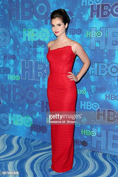 Actress Vanessa Marano attends HBO's Official 2016 Emmy After Party at The Plaza at the Pacific Design Center on September 18 2016 in Los Angeles...