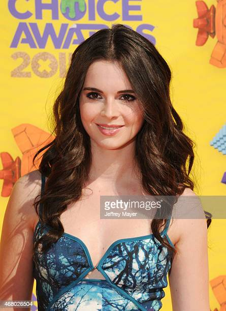 Actress Vanessa Marano attends Nickelodeon's 28th Annual Kids' Choice Awards held at The Forum on March 28 2015 in Inglewood California