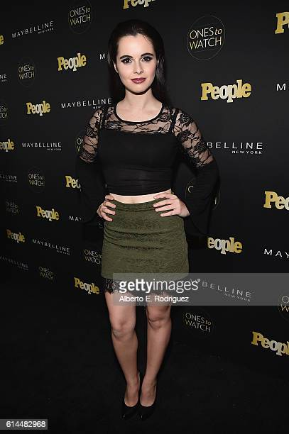 Actress Vanessa Marano attends People's 'Ones to Watch' event presented by Maybelline New York at EP LP on October 13 2016 in Hollywood California