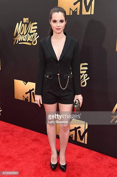 Actress Vanessa Marano attends the 2016 MTV Movie Awards at Warner Bros Studios on April 9 2016 in Burbank California MTV Movie Awards airs April 10...
