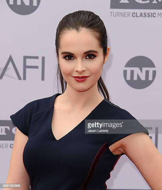 Actress Vanessa Marano attends the 44th AFI Life Achievement Awards gala tribute at Dolby Theatre on June 9 2016 in Hollywood California