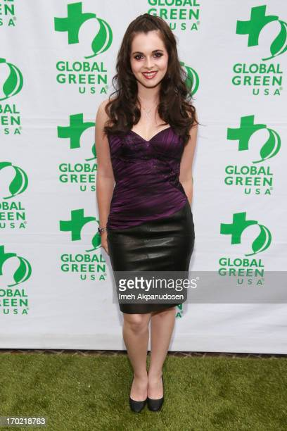 Actress Vanessa Marano attends the Global Green USA's Annual Millennium Awards at Fairmont Miramar Hotel on June 8 2013 in Santa Monica California