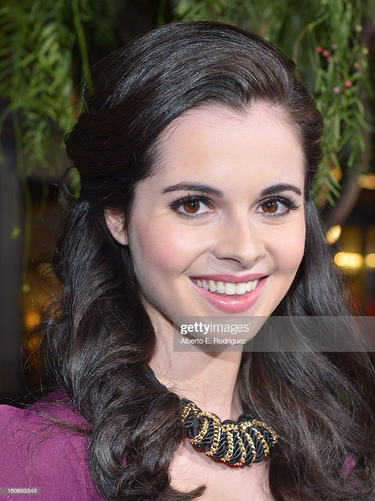 Actress Vanessa Marano attends the Los Angeles premiere of Warner Bros. Pictures' 'Beautiful Creatures' at TCL Chinese Theatre on February 6, 2013 in Hollywood, California.